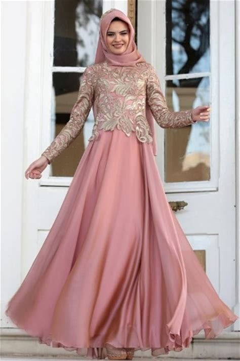 Gaun Pesta Prisket Brukat Cantik 50 model baju brokat muslim dari dress gamis hingga