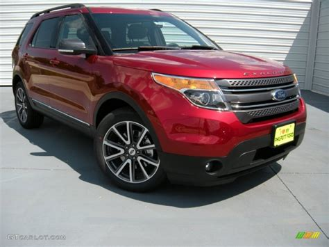 2015 ford explorer colors 2015 ruby ford explorer xlt 95734273 gtcarlot