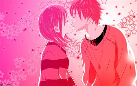 wallpaper valentine couple anime couple valentine s day msyugioh123 photo 33215037