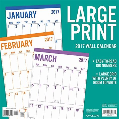 Calendar 2018 Office Depot Large Print 2017 Calendar Shopping Office Depot