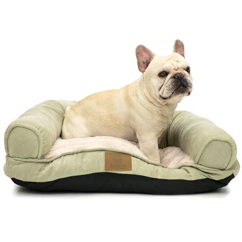 akc dog beds akc pet couch bed 10x26x22 quot in brown