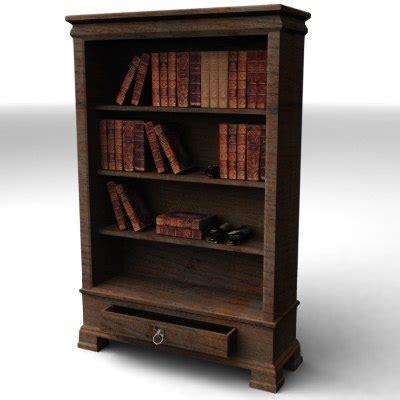 bookshelf books shelf 3d model