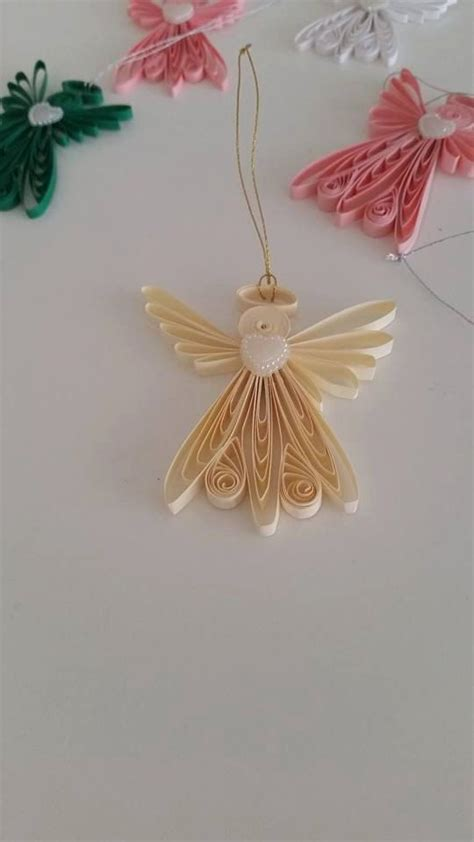 tutorial angelo quilling quilling angel quilling art ornament quilled paper