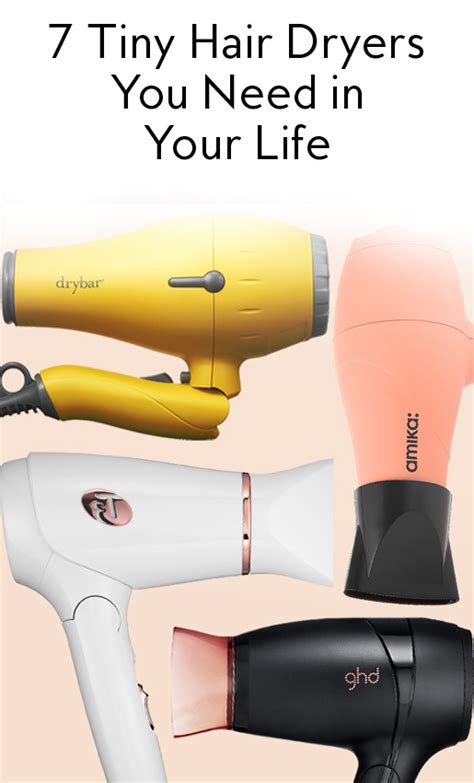 Hair Dryer Carry On Baggage 7 tiny hair dryers small enough to fit in your handbag instyle