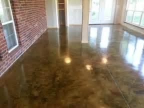 sunroom floors concrete acid stain photo gallery direct colors inc