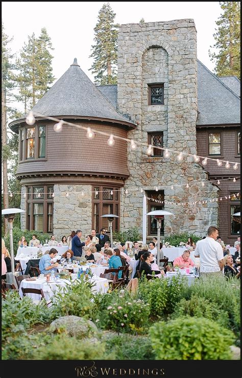 Wedding Venues Tahoe by Hellman Ehrman Mansion Lake Tahoe California Wedding