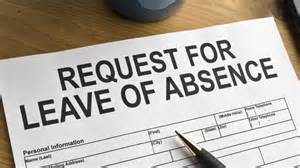 what is an employee leave of absence letter reference
