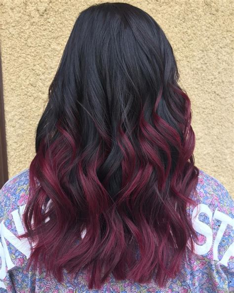 coloring only bottom of d hair 50 shades of burgundy hair dark red maroon red wine