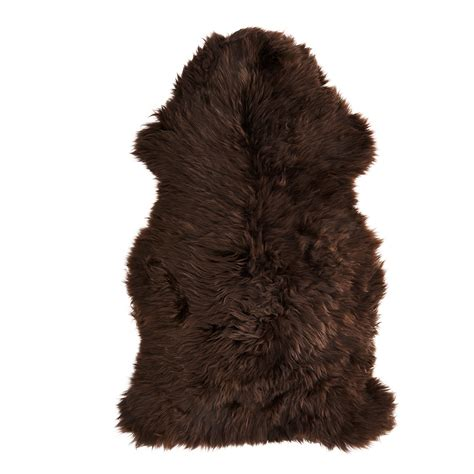 ikea sheepskin skold sheepskin dark brown 90 cm ikea