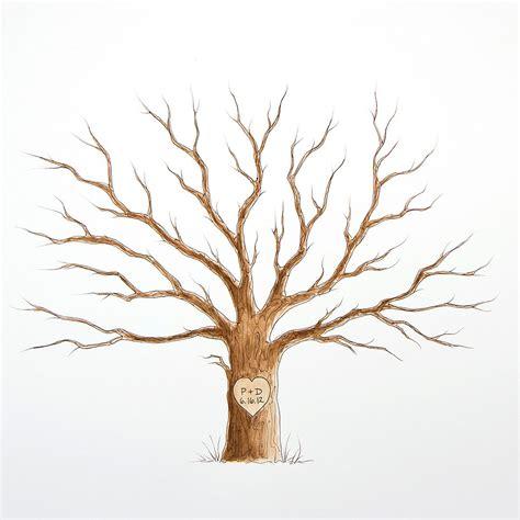 Wedding Tree by Medium Wedding Tree Guest Book 20 X 16 Family Tree