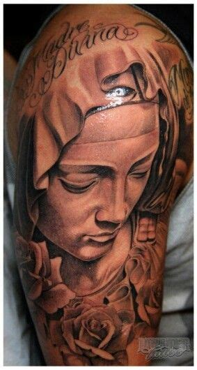 blessed mother tattoo designs 225 best comes to me images on