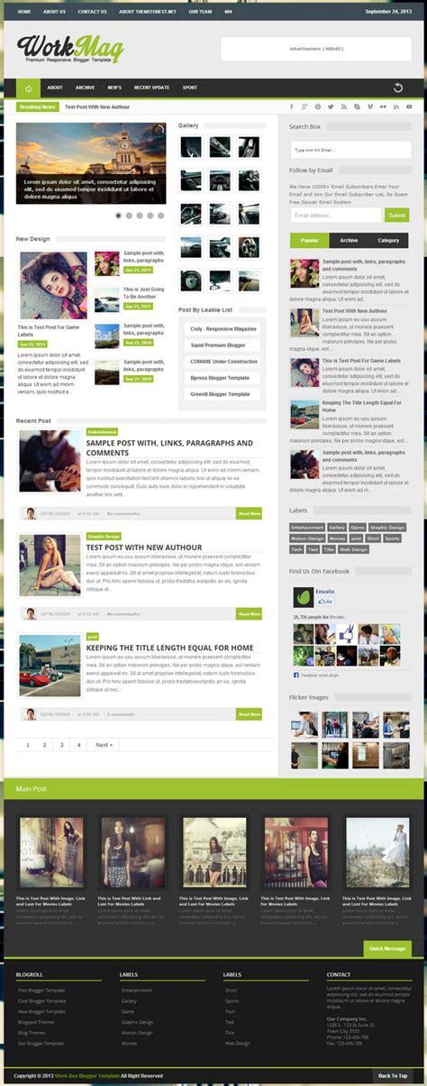 themes blogger premium free workmag responsive premium blogger template blogger