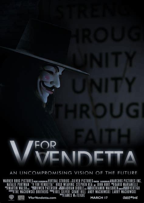 vendetta  film poster  crustydog  deviantart