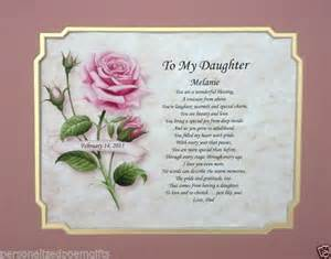 valentines day poems for daughters poem personalized gift for birthday or