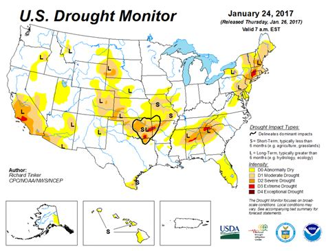 map of us drought states drought conditions improving for much of u s
