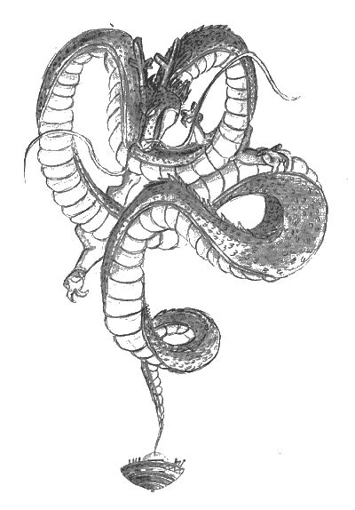 dragon ball z shenron coloring pages ultament shenron free colouring pages
