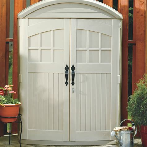 Lifescapes Highboy Storage Shed by Lifescapes Highboy Storage Shed Outdoor Storage Step2
