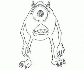 monsters university coloring pages pdf monster university colouring pages page 2 az coloring