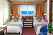 King Size Beds On Cruise Ships Two Lower Beds Convertible To A King Size Bed