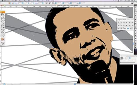 membuat poster adobe illustrator image gallery obama create poster