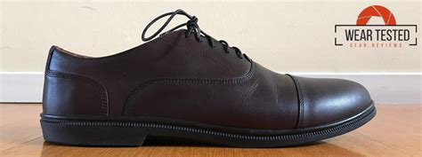 carets co fer cap toe oxford oxblood v4 dress shoes wear tested and precise gear reviews