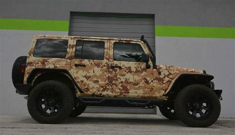 camo jeep salute worthy jeep wrangler in digital desert camo