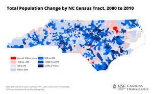 carolina demographics map visualizing neighborhood change 2000 to 2010 carolina