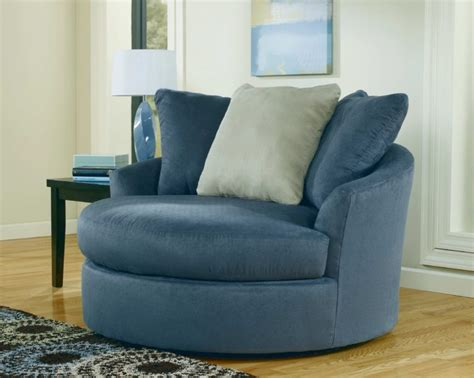 Blue Sitting Chairs Blue Leather Swivel Chairs Living Room Sitting Area
