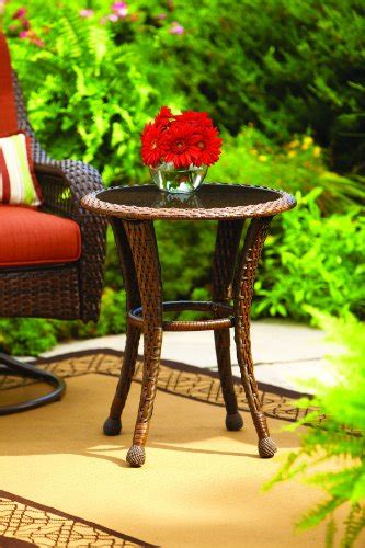 Better Homes And Gardens Azalea Ridge 20 Quot Wicker Round Better Homes And Gardens Wicker Patio Furniture