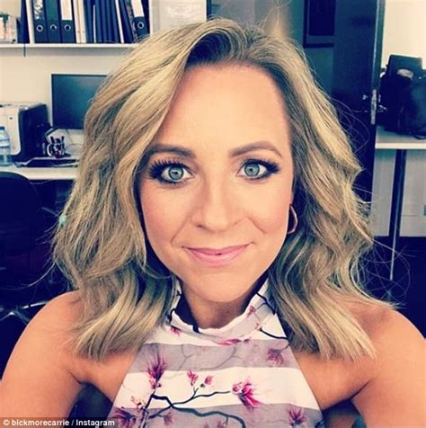 The Project's Carrie Bickmore flaunts her shorter hairdo   Daily Mail Online