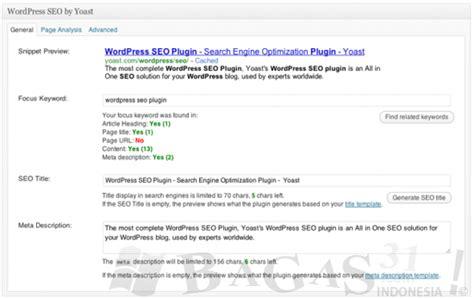 bagas31 yahoo seo plugin for wordpress yang dipakai bagas31