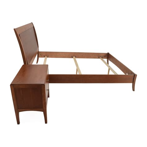 table bed 72 off macys macy s bed frame and matching side table