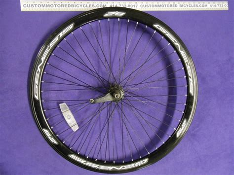 414 Black Onyx Doff 6mm custom motored bicycles used bicycle parts one of a