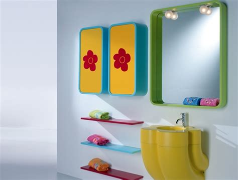 yellow and red bathroom blue yellow green red bathroom