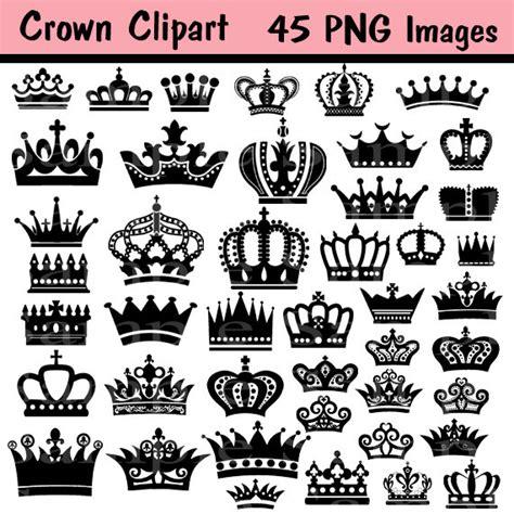 K V Line Shape Instant 20ea crown silhouette clip 57