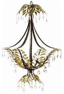 Tropical Chandelier Yosemite Npj808 Three Light Up Lighting Chandelier New
