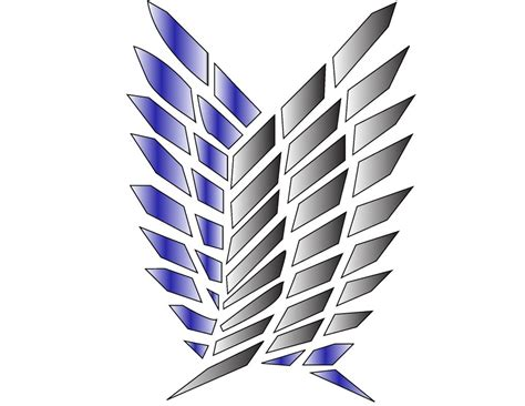 Survey Corps Anime survey corps logo by soldier829829 on deviantart