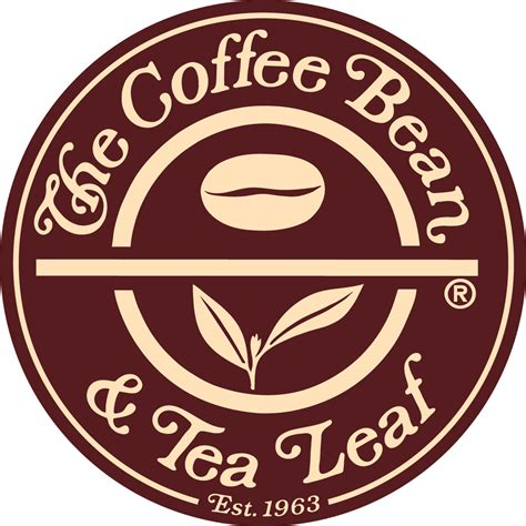 Coffee Bean & Tea Leaf Logo in PNG format on Logo PNG.Com