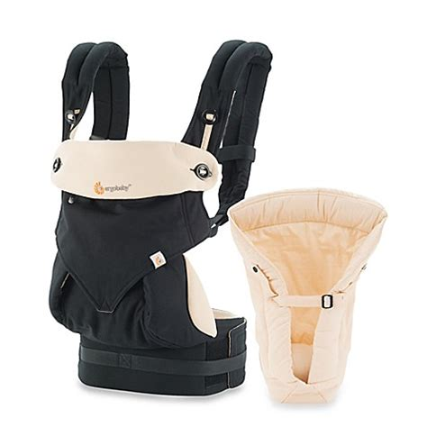 Ergobaby Four Position 360 Carrier Blackcamel buy ergobaby four position 360 carrier bundle of baby carrier in black camel from bed bath