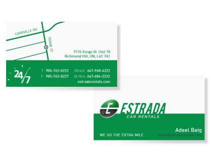 Of Toronto Business Card Printing
