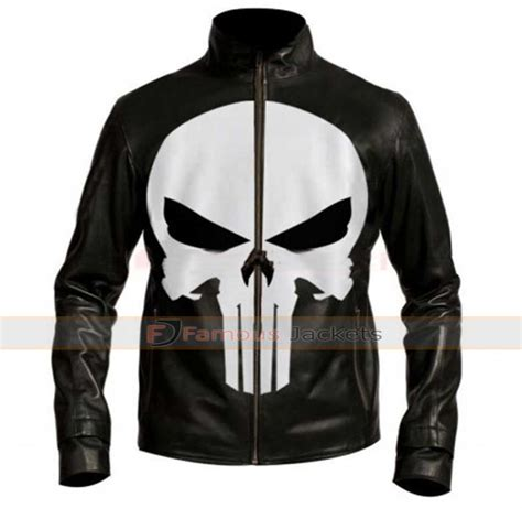 Jkt Skull welcome to the punch mcavoy black leather jacket