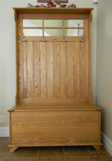 hallway bench with coat rack rustic entryway coat rack and bench stabbedinback foyer