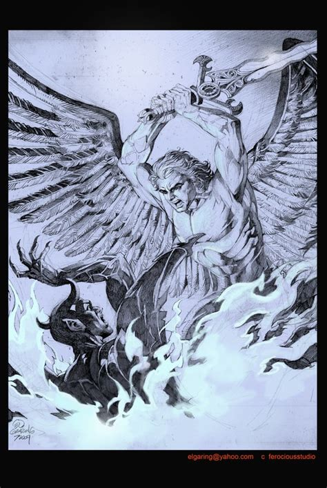 el lucifer archangel by elshazam on deviantart