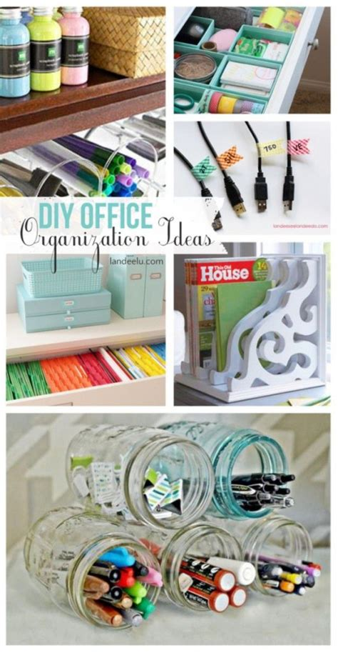 desk organization diy pretty and inexpensive ways to organize your home
