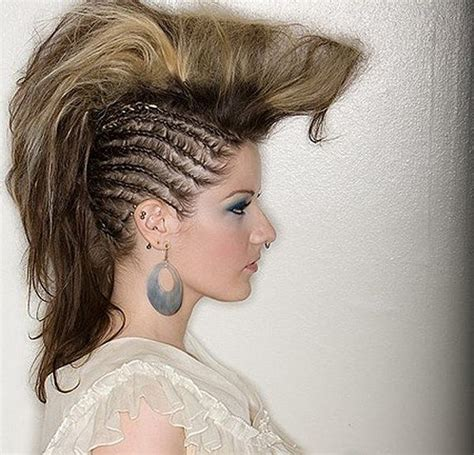 black n white hair hairstyles 45 fantastic braided mohawks to turn heads and rock this