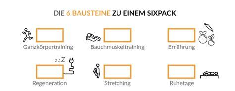 ᐅ Sixpack Trainingsplan In 4 Wochen Zum Waschbrettbauch