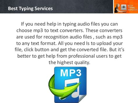 which audio format gives best sound quality how to convert audio to word document