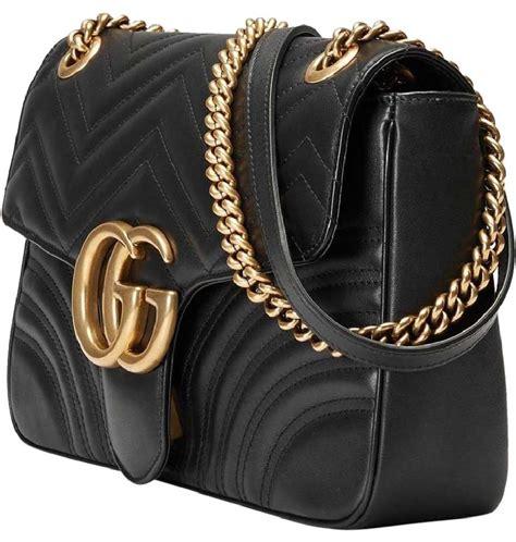 Gucci Gelang Gold Black 1 gucci new gg marmont medium shoulder bag on tradesy