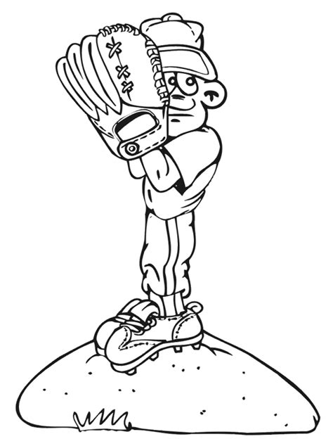 Kids Page: Baseball Coloring Pages | Download Free