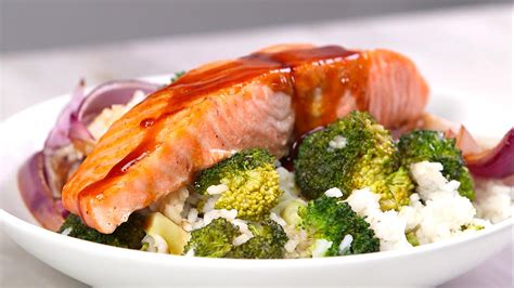 Todays Special Sake Salmon And Rice by Eat This One Dish Every Week For A Healthy Real Simple